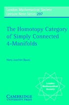 The Homotopy Category of Simply Connected 4-Manifolds