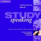 Study Speaking Audio CD: A Course in Spoken English for Academic Purposes