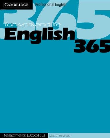 English365 3 Teachers Book by Matt Smelt-Webb
