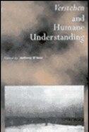 Verstehen And Humane Understanding