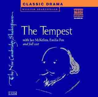 The Tempest Set of 2 Audio CDs by William Shakespeare