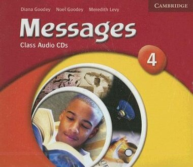 Messages 4 Class Audio CDs by Diana Goodey