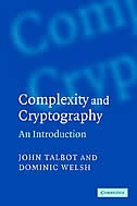Complexity and Cryptography: An Introduction