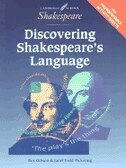 Book Discovering Shakespeares Language American edition by Rex Gibson