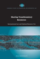 Sharing Transboundary Resources: International Law and Optimal Resource Use
