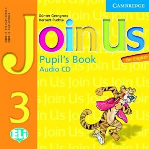 Join Us for English 3 Pupils Book Audio CD by Gunter Gerngross
