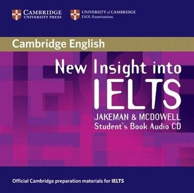 New Insight into IELTS Students Book Audio CD by Vanessa Jakeman