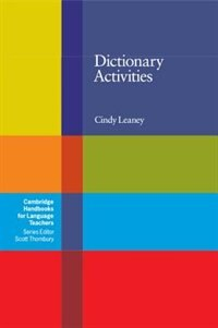 Dictionary Activities by Cindy Leaney