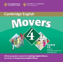 Cambridge Young Learners English Tests Movers 4 Audio CD: Examination Papers From The University Of…