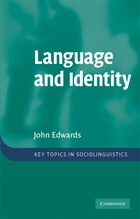 Language and Identity: An introduction