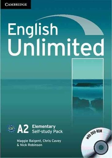 English Unlimited Elementary Self-study Pack (Workbook with DVD-ROM) by Maggie Baigent