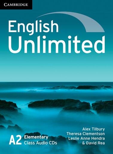 English Unlimited Elementary Class Audio CDs (3) by Alex Tilbury