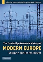 The Cambridge Economic History of Modern Europe: Volume 2, 1870 to the Present