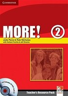 More! Level 2 Teachers Resource Pack with Testbuilder CD-ROM/Audio CD