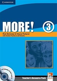 More! Level 3 Teachers Resource Pack with Testbuilder CD-ROM/Audio CD