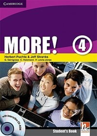 More! Level 4 Students Book with Interactive CD-ROM de Herbert Puchta
