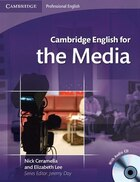 Cambridge English for the Media Students Book with Audio CD