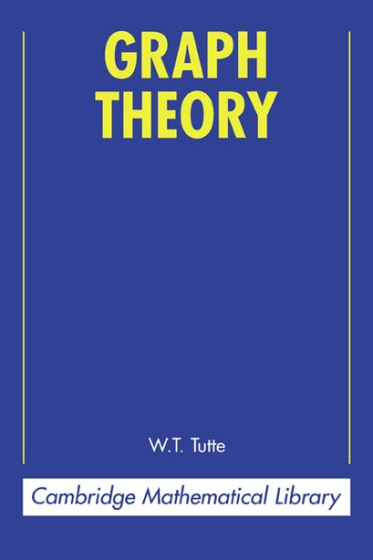 Graph Theory by W. T. Tutte