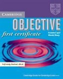 Objective First Certificate Student's Book With Answers