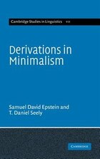 Derivations In Minimalism