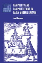Pamphlets and Pamphleteering in Early Modern Britain