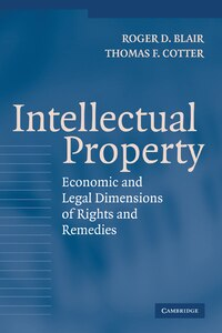 Intellectual Property: Economic and Legal Dimensions of Rights and Remedies