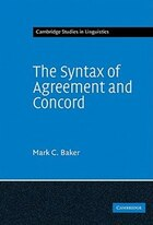 The Syntax of Agreement and Concord