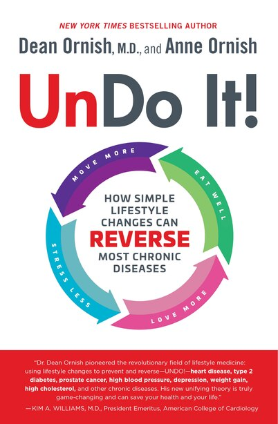 Undo It!: How Simple Lifestyle Changes Can Reverse Most Chronic Diseases by Dean Ornish