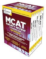 The Princeton Review Mcat Subject Review Complete Box Set, 3rd Edition: 7 Complete Books + 3 Online…