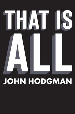 Book That Is All by John Hodgman