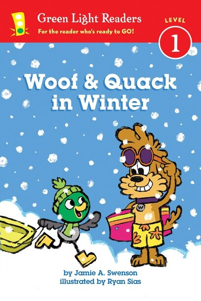 Woof And Quack In Winter (reader) by Jamie Swenson
