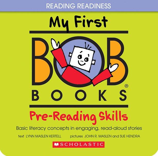 My First Bob Books: Pre-Reading Skills de Lynn Maslen Kertell