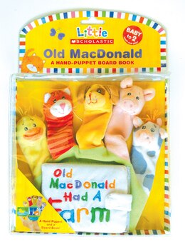 Book Little Scholastic: Old Macdonald: Hand Puppet Board Book by Scholastic Inc