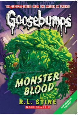 Book Goosebumps #3 Monster Blood by R L Stine
