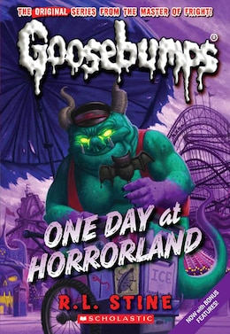 Book Goosebumps #5: One Day at HorrorLand by R L Stine