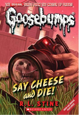 Book Goosebumps #8: Say Cheese and Die! by R L Stine