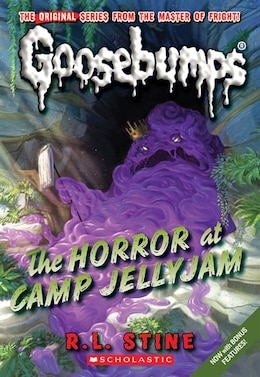 Book Goosebumps #9: The Horror at Camp Jellyjam by R L Stine