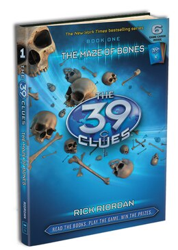 Book The 39 Clues Book One: The Maze of Bones by Rick Riordan