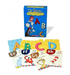 Dr Suess Learning Cards: ABC
