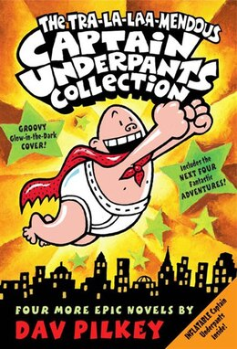Book The Tra-La-Laa-Mendous Captain Underpants Boxed Set (Books 5-8) by Dav Pilkey