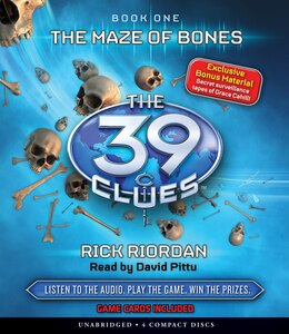 Book The 39 Clues Book One: The Maze of Bones (Audio) by Rick Riordan