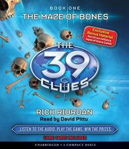 Book The 39 Clues Book One: The Maze of Bones (Audio) by Rick Riordan