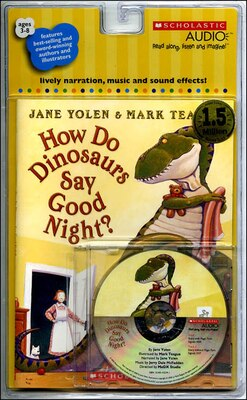 Book How Do Dinosaurs Say Good Night?: Book and CD by Jane Yolen