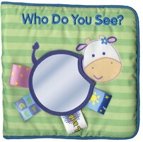 My First Taggies Cloth Book: Who Do You See?