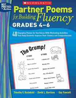 Partner Poems for Building Fluency: Grades 4-6: 40 Engaging Poems for Two-Voices With Motivating Activities That Help Students Improve Their Fluenc de Gay Fawcett