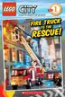 Lego Reader: City Adventures: Fire Truck to the Rescue by Sonia Sander