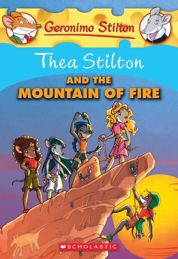 Thea Stilton 2 And The Mountain Of Fire By
