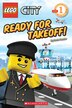 Lego Reader: Lego City Adventures: Ready for Takeoff!: Level 1 by Sonia Sander