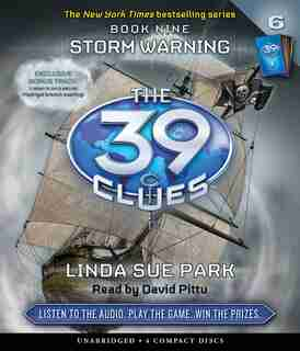The 39 Clues Book Nine: Storm Warning (Audio) by Linda Sue Park