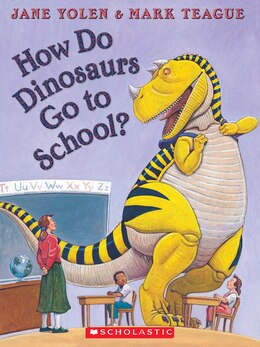 Book How Do Dinosaurs Go to School?: Book and CD by Jane Yolen